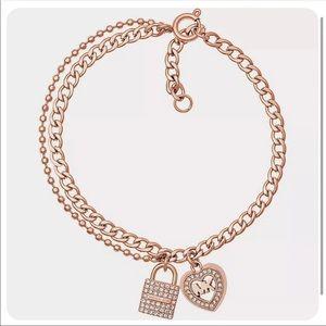 Michael Kors MKJX7178791 Bracelet Ip-Rose Gold